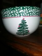 Furio Christmas Tree Dishes Nesting Mixing Bowl 7 Made In Italy Free Shipping
