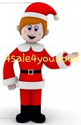 35and039 Foot Kris Kringle Santa Claus Is Cominand039 To Town Custom Made Inflatable