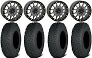 System 3 Sb-5 Grey 15 Wheels 32 Coyote Tires Can-am Defender