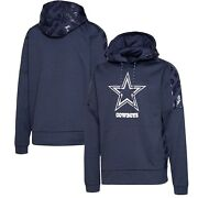 Dallas Cowboys Nfl Typhoon Pullover Hoodie Navy Menand039s 4xl
