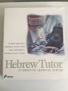 Hebrew Tutor Learn Biblical Hebrew With Your Own By Parsons Technology New