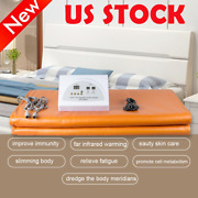 Sauna Far Infrared Thermal Blanket Heating Therapy Slim Bag Spa Weight Loss Tool