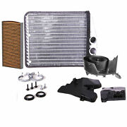 Valeo Hvac Heater Core With Blower Motor And Actuator Cabin Air Filter Kit For 9-3