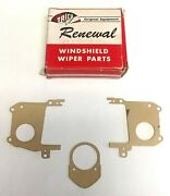 Trico Ssr Vacuum Wiper Motor Gasket Set - Ford Chevy Buick Olds Pontiac