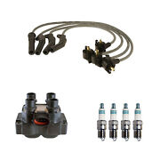 Denso Ignition Coil Wire Set 4 Iridiumpower Spark Plugs Kit For Ford Mercury 2.0