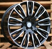 New 4x 22 Inch 5x120 Black Wheels For Land Rover Discovery Defender Range Sport