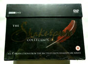 The Shakespeare Collection Box Set 37 Productions Bbc Dvd Region 2 Pal