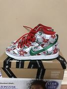 Nike Sb Dunk High Ugly Christmas Sweater Premium Concepts Sneakers 9