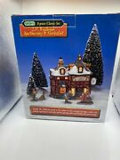 Lemax J P Weilman Apothecary And Herbalist 8 Pc. Set Christmas Village Retired