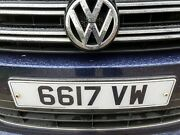 Vw Private Number Plate