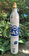 Two 2 New 60 Liter Empty Co2 Cylinder For Sodastream -no Booby Trap-nyc Ship