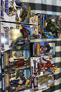Marvels Avengers End Game Infinity War 8 Toy Set Action Figures Collection Funko