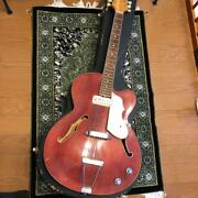 Vox Wildcat 1968 Semi Hollow Electric Guitar With Hard Case Shipped From Japan