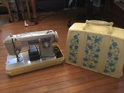 Portable Vintage Brother Wizard Citation Sewing Machine 3kc-8846 Immaculate