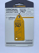 Aviationtag Boeing 747 Lufthansa Gelb Andndash D-abvc Extrem Selten Sold Out Planetag