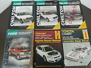 Automotive Repair Manuals Lot Of6 Pre Owned