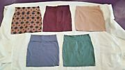 Pencil Skirt Charlotte Russe 5 Womens Casual Straight Skirts Lot Size Xl