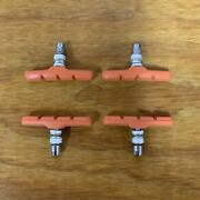 Bicycle Brake Pads For Schwinn Occ Chopper, Mountain Bikes And Others New Orange