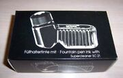 Mont Blanc Vintage Fountain Pen Ink Black Inkwell Supercleaner Sc21 New Sale