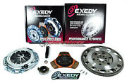 Exedy Racing Stage 2 08905 Clutch Kitandchromoly Flywheel For Rsx Tsx Accord Civic