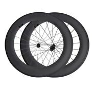 Ud 3k Matte 88mm Bicycle Wheelset Dt240 Swiss Hub Road Bike Carbon Fibre Wheels