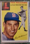1954 Topps Ted Williams 250 Baseball Card Plus 1