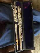 Musical Instrument Vintage Armstrong Flute Model 80 Sterling Silver All Parts