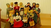 Vintage Holiday Inspirations Christmas Caroler 15 Figurines -7adults And 8children