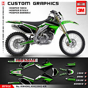 Kungfu Graphics Custom Sticker Racing Decals For Klx450r Klx 450r 2008 To 2022