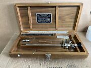 Vintage Brown Buerger American Cystoscope Maker, Inc And Box Antique Wappler Used