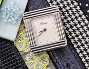 Rare Poiray Ma Premier Silver Ladies Watch W/ 11 Kinds Belt Shipped From Japan