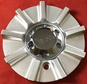 One New Rox Custom Wheel Center Cap Silver Painted 141l150 S309-07 8783