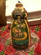 Jim Shore - Two-by-two Santa With Noah's Ark Figurine - 2006 - Christmas - 10