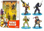 Fortnite Battle Royale Collection 4 Figure Squad Pack Ages 8+ Toy Raptor Game