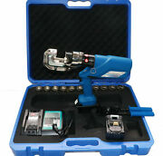 Hl-400 16-400mmandsup2 Rechargeable Battery Electric Hydraulic Plier Kit Crimping Tool