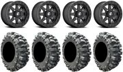 Fuel Maverick Bdlk Bk 14 Wheels 31 Bogger Tires Sportsman Rzr Ranger