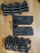 American Flyer Lot Of S Gauge Track 16 Straight 23 Curved Pcs Switches