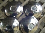 Vintage Four 1960 1964 Chevrolet Chevy Corvair Hubcaps Wheel Covers Center Caps