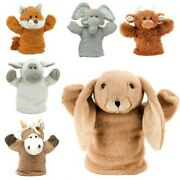 Super Soft Animal Puppets Toys For Kids Children Fun Animal Hand Puppet