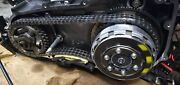 Oem 07-17 Harley Touring Dyna And Softail Twin Cam Black Inner Primary Housing