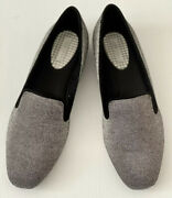 Com And Sens Women's Shoes Slip On Loafers Black/silver New With Box