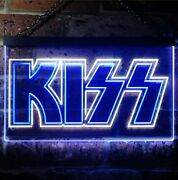 Hq Kiss Colorful Led Neon Sign - 16 X 12