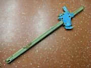 Original 1960and039s Trunk Mount Bumper Jack Mast Assembly Date Code 32 5/8 Long