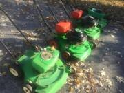 Lawn Boy Collection 4 Mowers + Parts All 2 Stroke Commercial Bricktop Magnesium