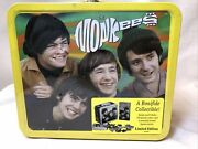 Vintage The Monkees Lunchbox Limited Edition 110 Min Video And Jigsaw Puzzle Bn