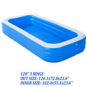 120 X 72 Thick Material Pool Set Above Ground Pool Garden Pool Spas