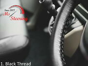 For Baw Luling Model-black Steering Wheel Cover Diff Stitch Colors