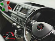 For Austin Healey Sprite Mk2 13'' 50-70 Black Leather Steering Wheel Cover   Bei