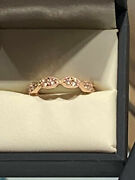 New Rose Gold Diamond Engagement Ring Perfect Holiday Gift Never Worn