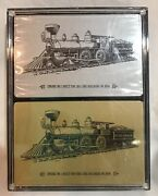 2 Decks Of New Vintage Soo Line Railroad Playing Cards In Original Case Engine 1